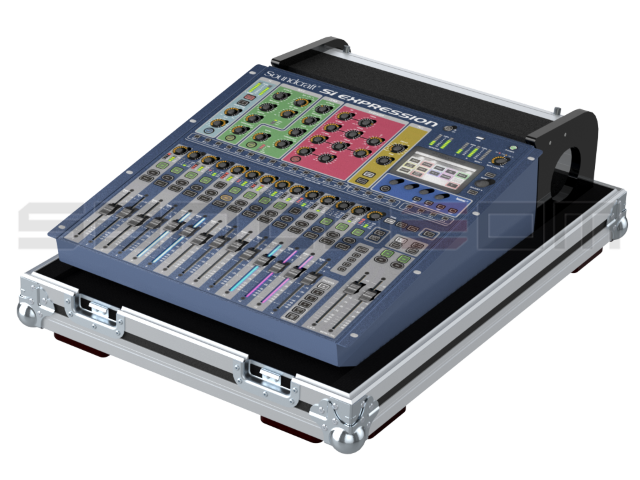 Santosom Mixer  Flight case PRO, Soundcraft Si Expression 1
