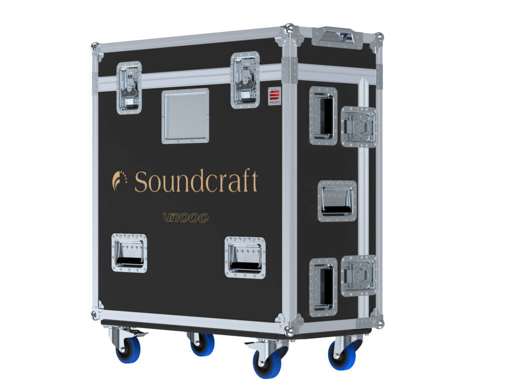 Santosom Mixer  Flight case PRO-3, Soundcraft Vi1000