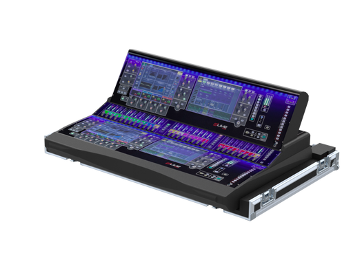 Santosom Mixer PRO-3 Flight case, Allen & Heath DLive S5000