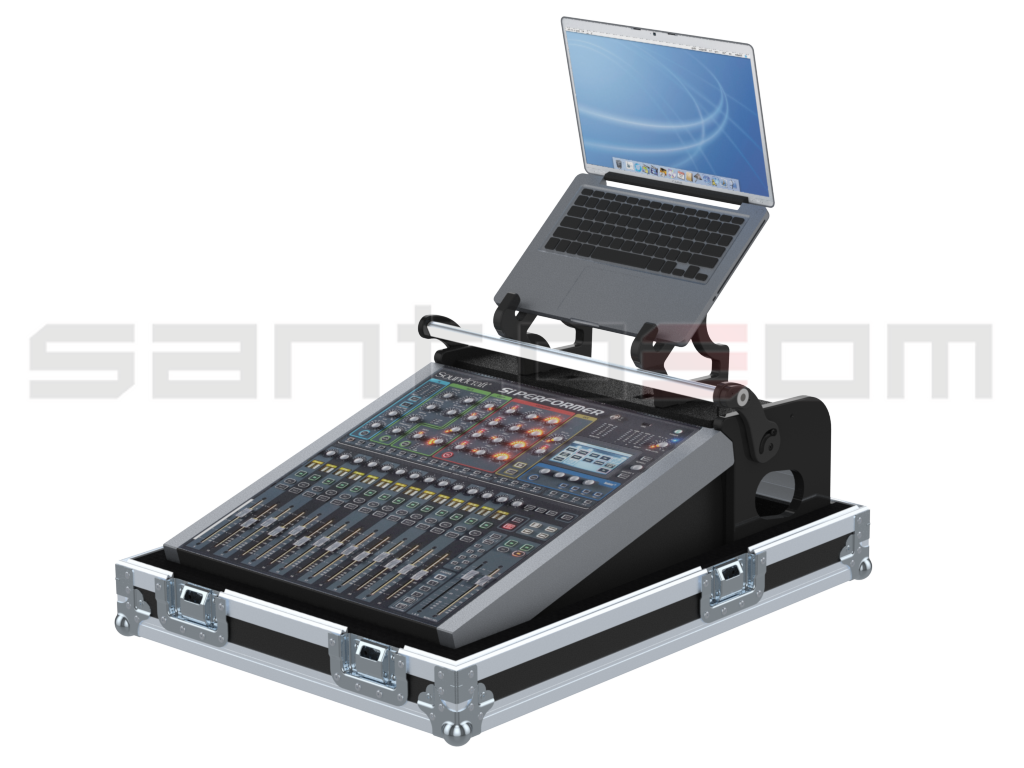 Santosom Mixer PRO Flight case PRO, Soundcraft Si Performer 1