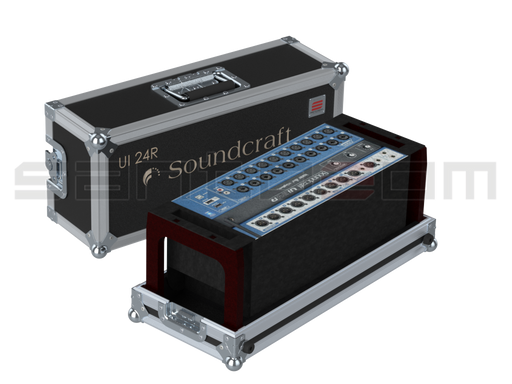 Santosom Flight Case Mixer  Soundcraft Ui24R