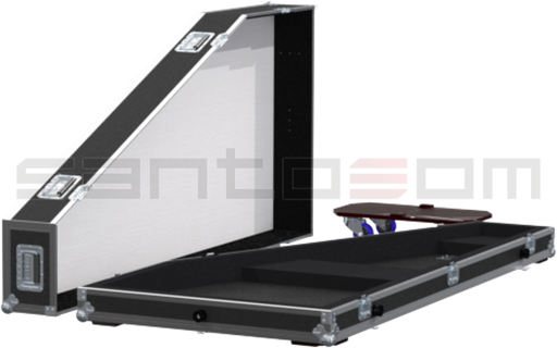 Santosom Orchestra  Flight Case, Cravo Italiano W1850xD800xH230mm