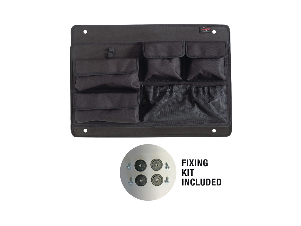 Explorer Accessory  LID Panel With ORGANIZED POUCHES