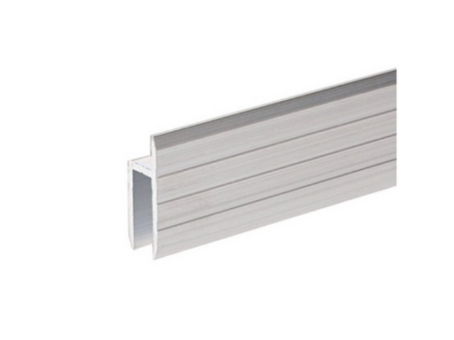 Adam Hall Hardware  Aluminium H Section extrusion For rear Doors - 7mm