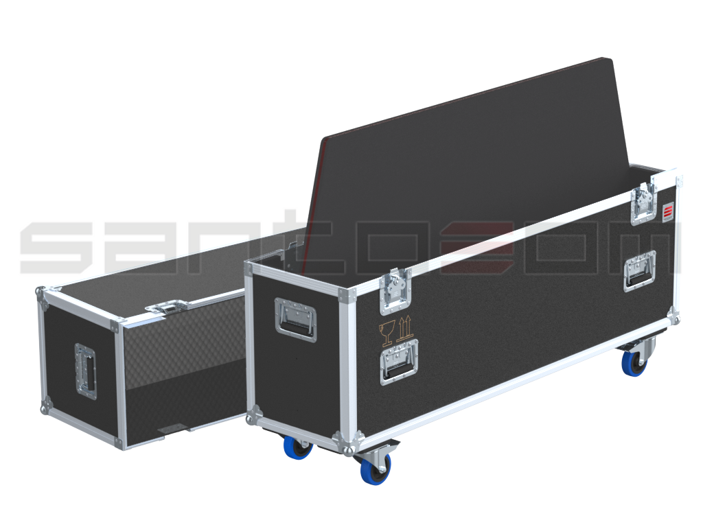 "Santosom Display  Flight case PRO, 1-2 Screen 58"" (142x14x82 UID)"