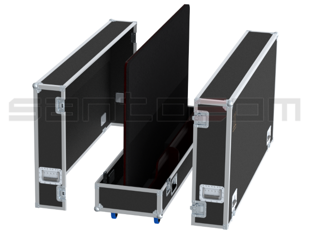 "Santosom Display  Flight Case PRO-3, 1 Screen 82"" (186x15x112 UID)"