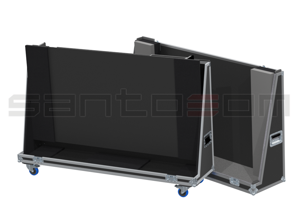 Santosom Display  Flight Case Universal, LCD Max: 1880x115x1120