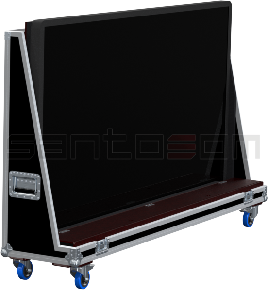 Santosom Display PRO Flight Case Universal, LCD Max: 2000x125x1300