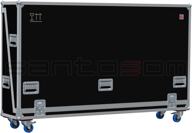 Santosom Display  Flight Case Universal, LCD Max: 2000x125x1300