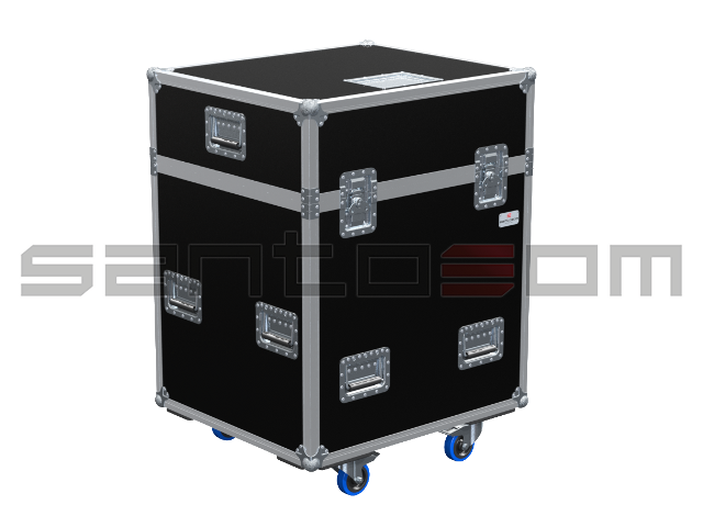 Santosom Projector  Flight case PRO, 4x Robert Juliat 714SX