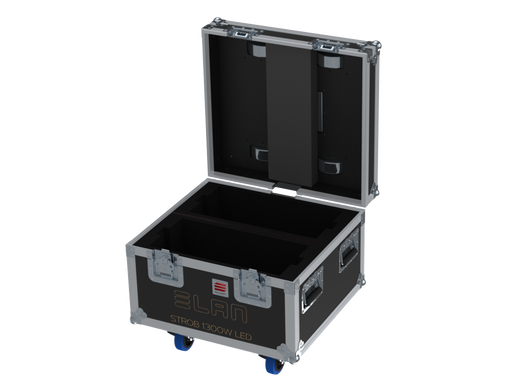 Santosom   Flight case PRO, 2x ELAN 1300