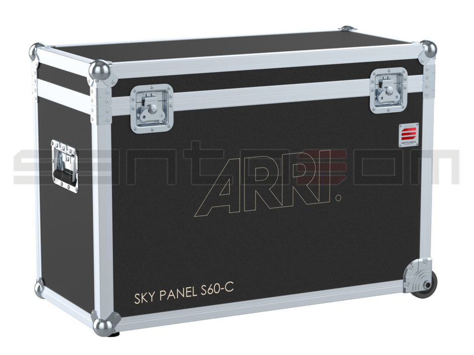 Santosom Projector  Flight Case, Arri Sky Panel S60-C + Space 758x90x300