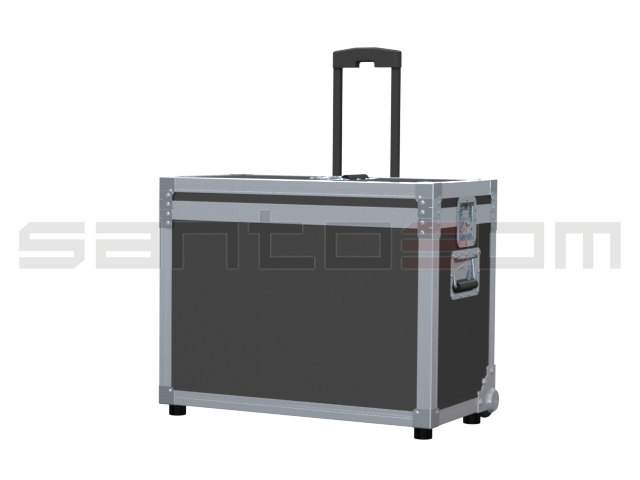 Santosom Projector  Flight Case, Cineo HS2 + Mirror