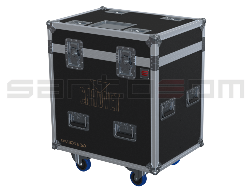 Santosom Projector  Flight case PRO, 4x Chauvet Ovation E-260WW/ E-260CW