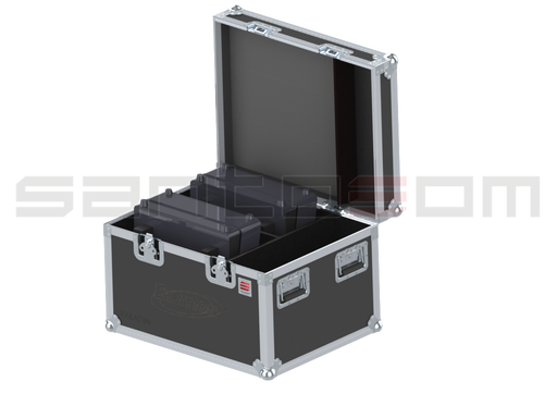 Santosom Projector  Flight case, 2x ELATION Paladin