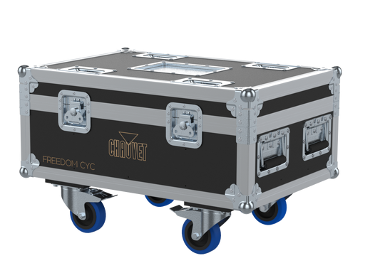 Santosom Projector  Flight case PRO, 8x Chauvet Freedom CYC