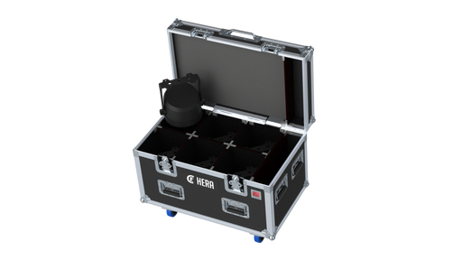 Santosom Projector  Flight case PRO, 6x CLF HERA (clamps on)