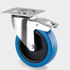 Tente   Swivel wheel Ø80mm With Brake