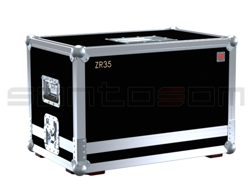 Santosom   Flight case, JEM ZR35 smoke machine