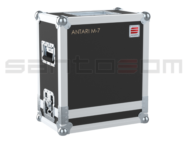 Santosom   Flight case, Antari M-7 RGBA