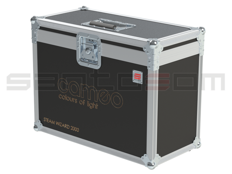 Santosom   Flight case, Cameo STEAM WIZARD 2000