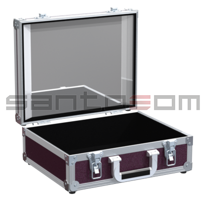 Santosom   Flight case Make-Up 360