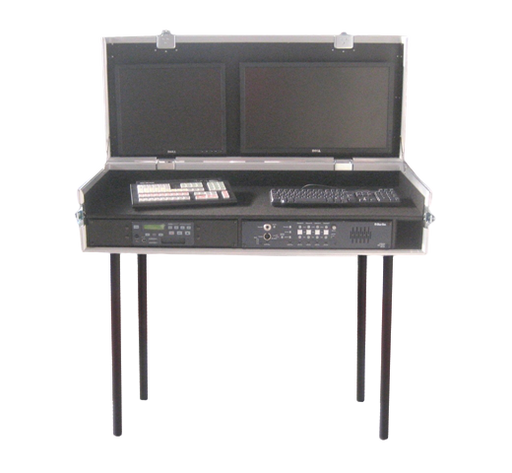 Santosom Video Controller  Flight case, Video Production, 1450x550 x 2x 2U