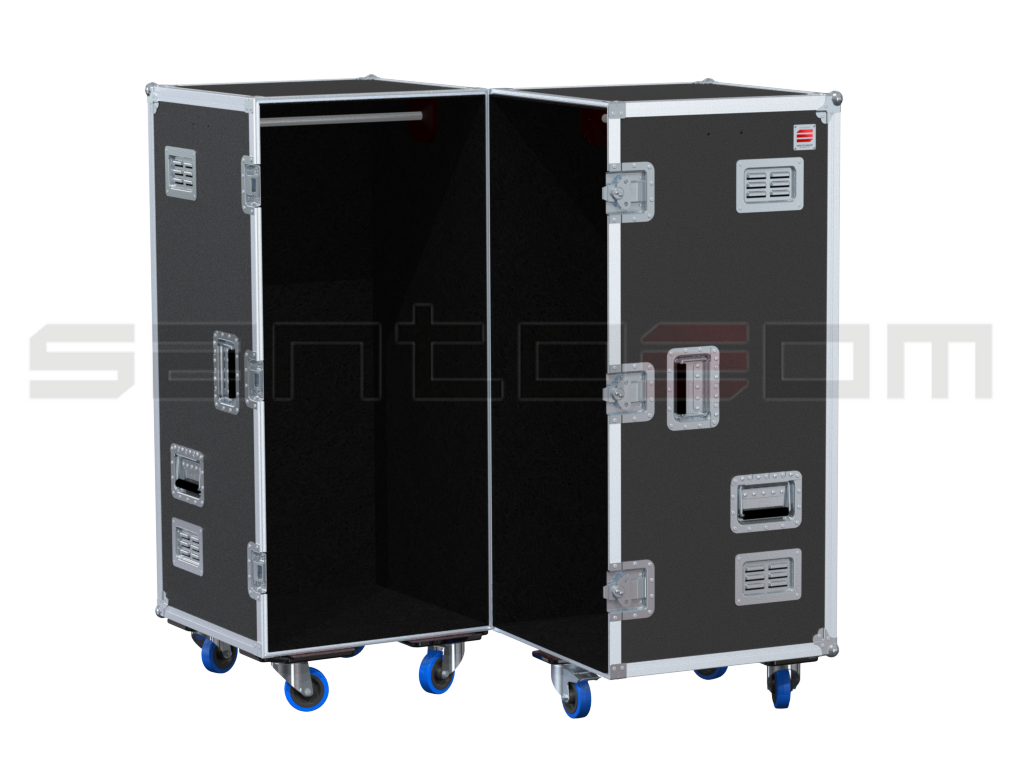 Santosom   Flight case Wardrobe 208A