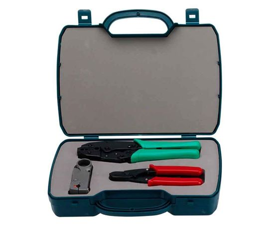 Cabac Professional Co-Axial Cable Installers Kit - Tools&Gear