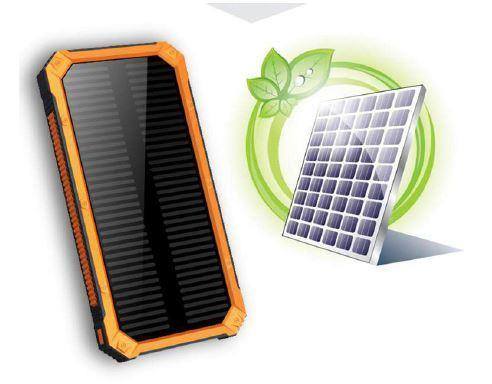 Solar Power Bank Portable Charger 8,000 mah