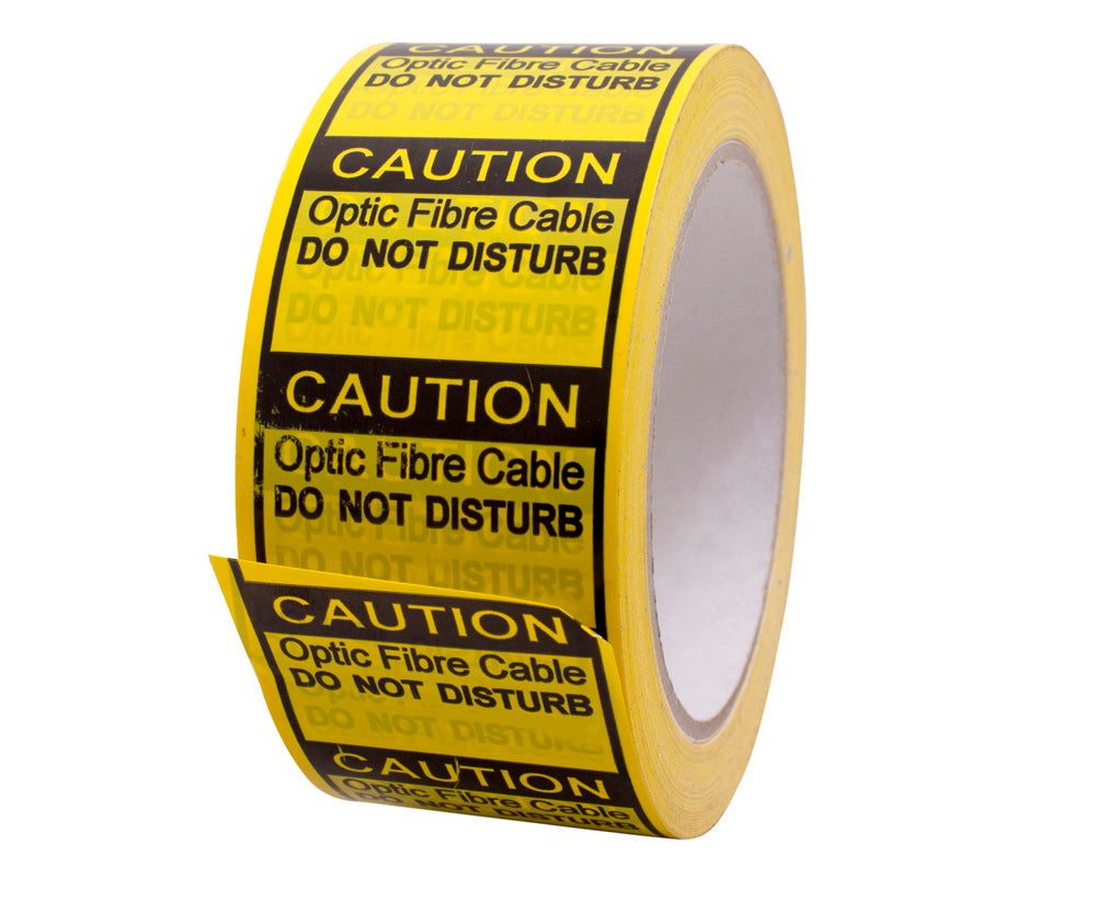 FIBRE OPTIC CABLE WARNING TAPE 66M ROLL