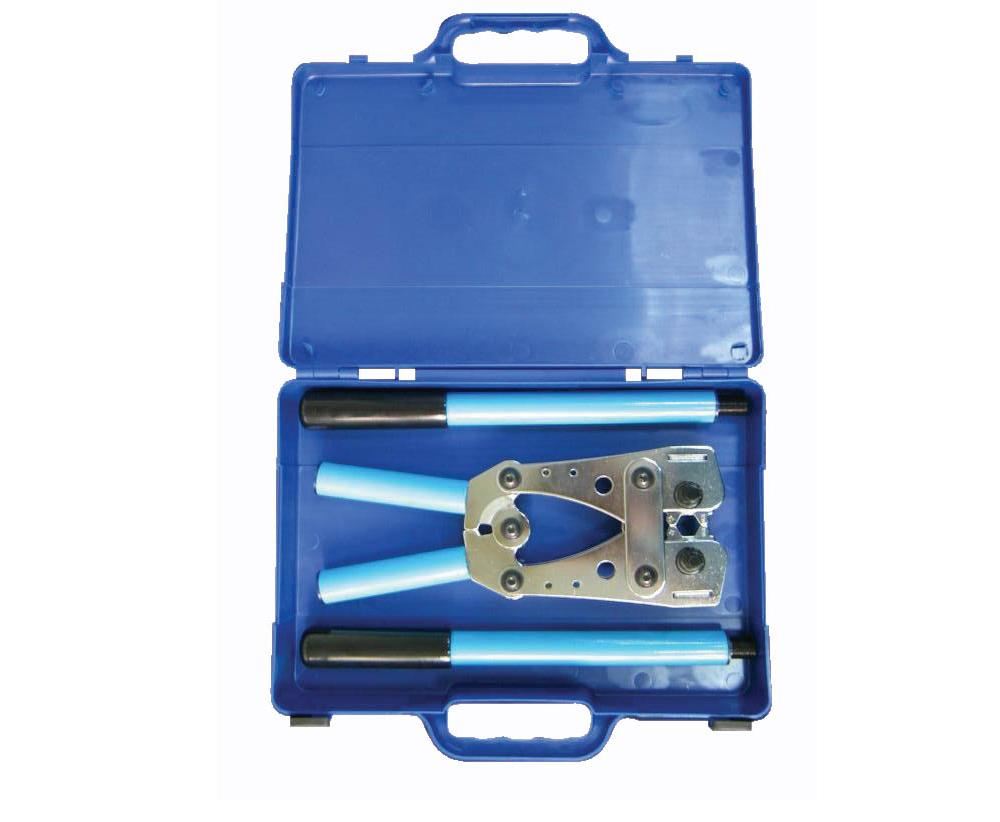Cabac Hexagonal Crimper 6-120MM²  M/Handle Case