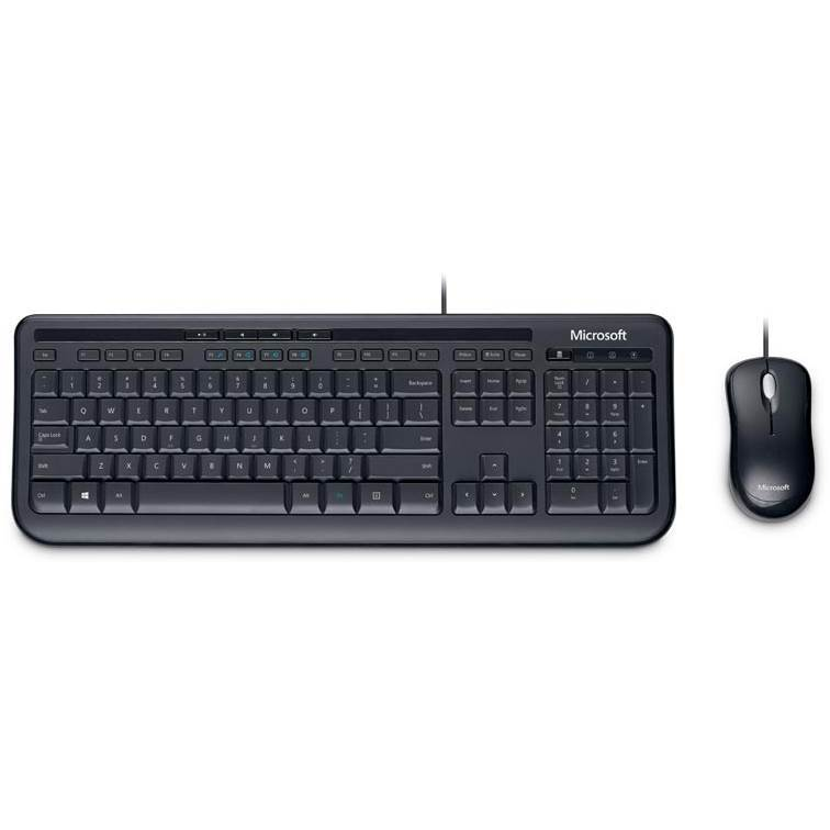 Microsoft-Wired-Desktop-600-K&M-USB-Black-Mouse-&-Keyboard-Combo---Spill-Resistant,--Retail-Pack