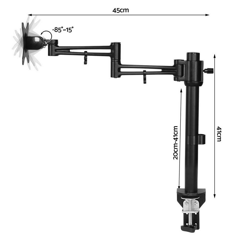 Buy Adjustable Monitor Arm Desk Mounted in Online - Tools & Gear