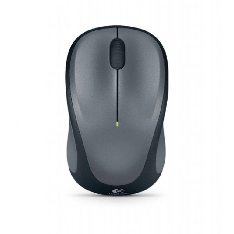 Logitech-M235-Wireless-Mouse-Grey-Contoured-design-Glossy-Comfort-Grip-Advanced-Optical-Tracking-1-year-battery-life