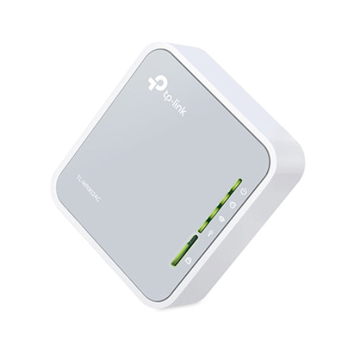 TP-Link TL-WR902AC AC750 750Mbps Dual Band WiFi Wireless Travel Router 1x100Mbps LAN/WAN USB for 3G/4G Modem Pocket Size WISP AP Range Extender Client NWTL-WR902AC