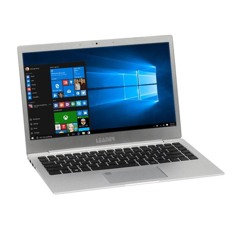 "Leader Companion 342PRO Ultraslim , 13.3"" Full HD, Intel i5-8350U, 8GB, 240GB SSD, Windows 10 Professional, 2 year Warranty - Finger Print, Backlit"