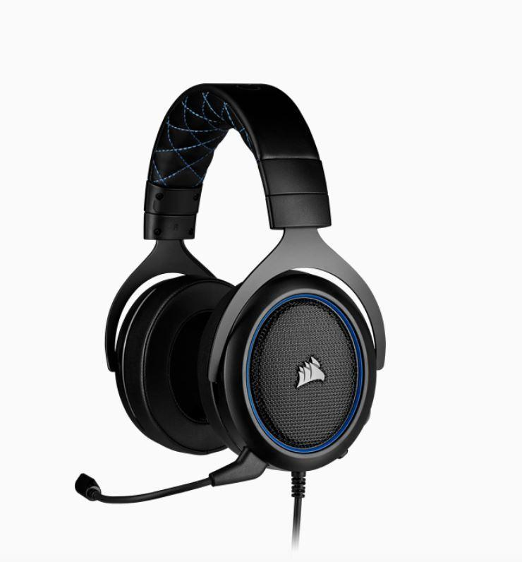 Corsair HS50 PRO Blue STEREO Gaming Headset online - Tools & Gear