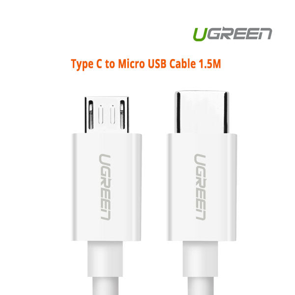 UGREEN Type C to Micro USB Cable 1.5M (40419)