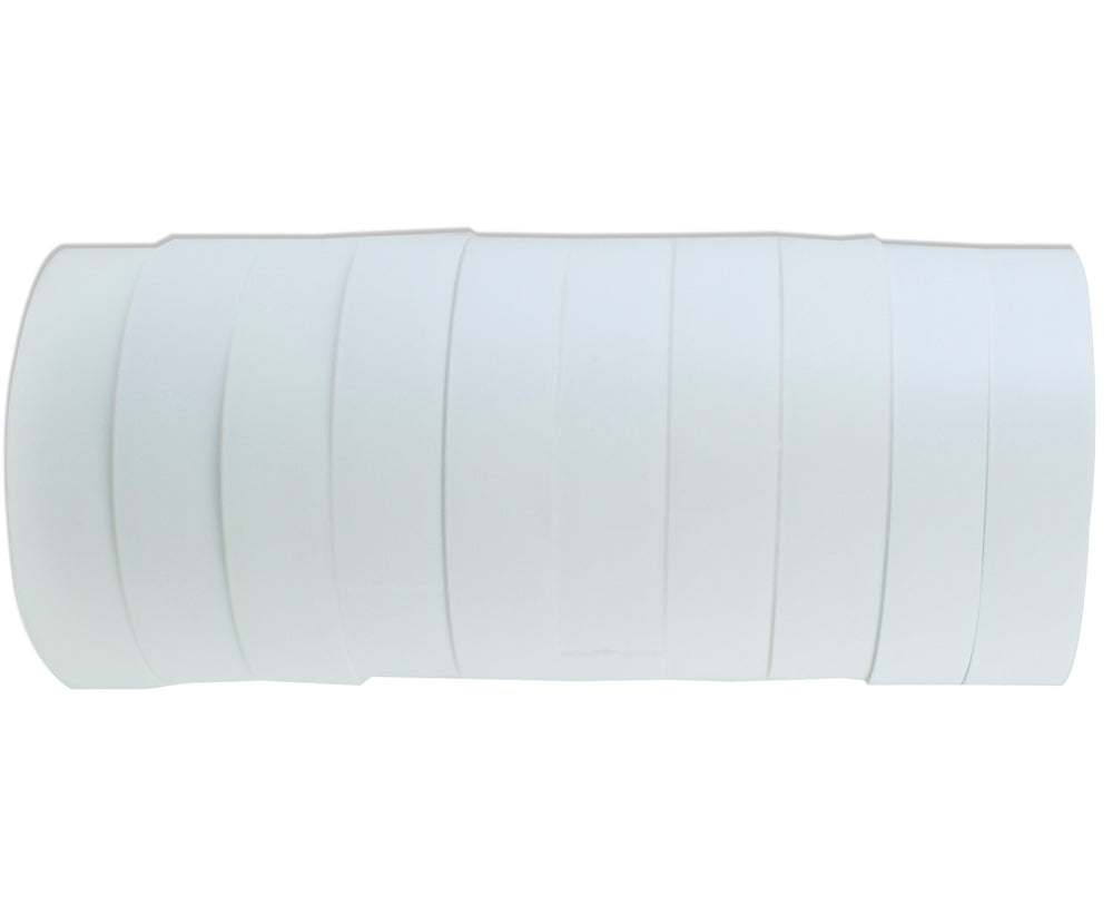 CABAC INSULATION TAPE WHITE PACK OF 10 ROLLS