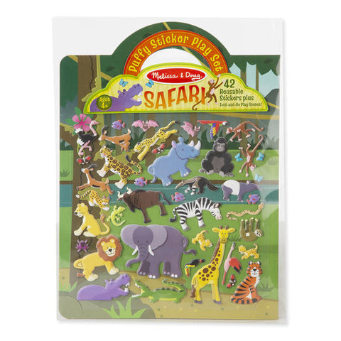 Toys-Reusable Puffy Stickers