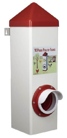 2 Gallon Poultry Feeder (PVC)