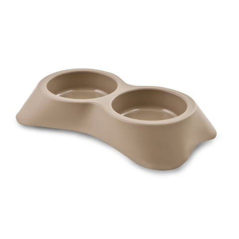 Dog Bergamo Dog Dish 2x600ml