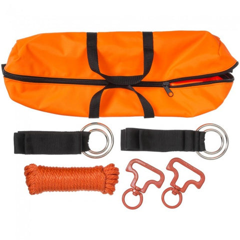 2 Horse Picket Line Kit - Orange