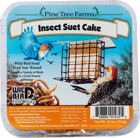 Suet, PT Insect, 340g