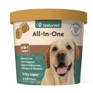 Naturvet All-In-One Soft Chews 60 count