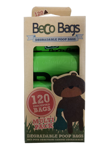 Beco Bags Degradable Poop Bags (120 bags)