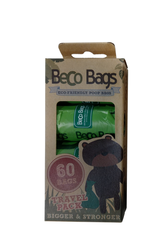 Beco Bags Eco Friendly Poop Bags (60 bags)