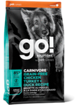 Go! Go! Carnivore Chicken Turkey and Duck Adult 22.lbs