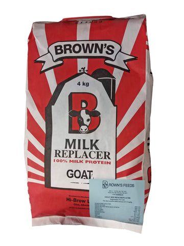 Browns Goat Milk Replacer 4kg